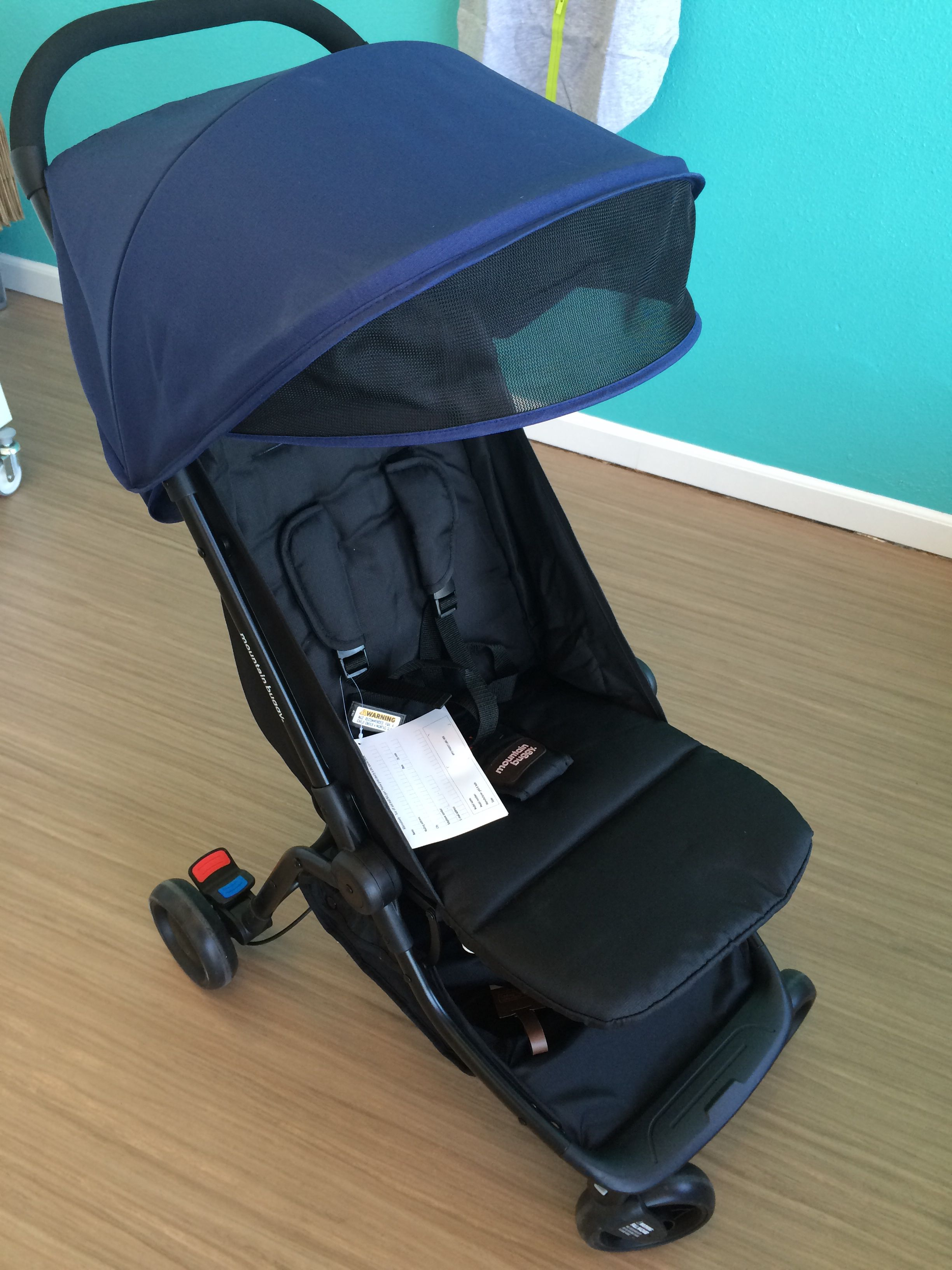 Mountain Buggy Nano, great travel stroller! Fits in the