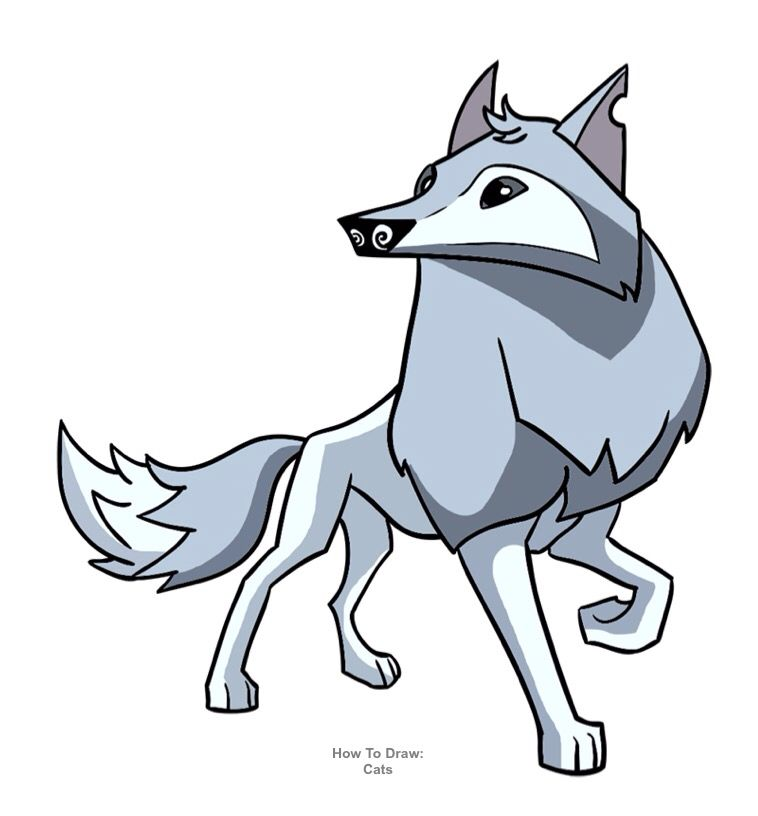 Lobo Artico De Animaljam Animal Jam Animals Animated Animals