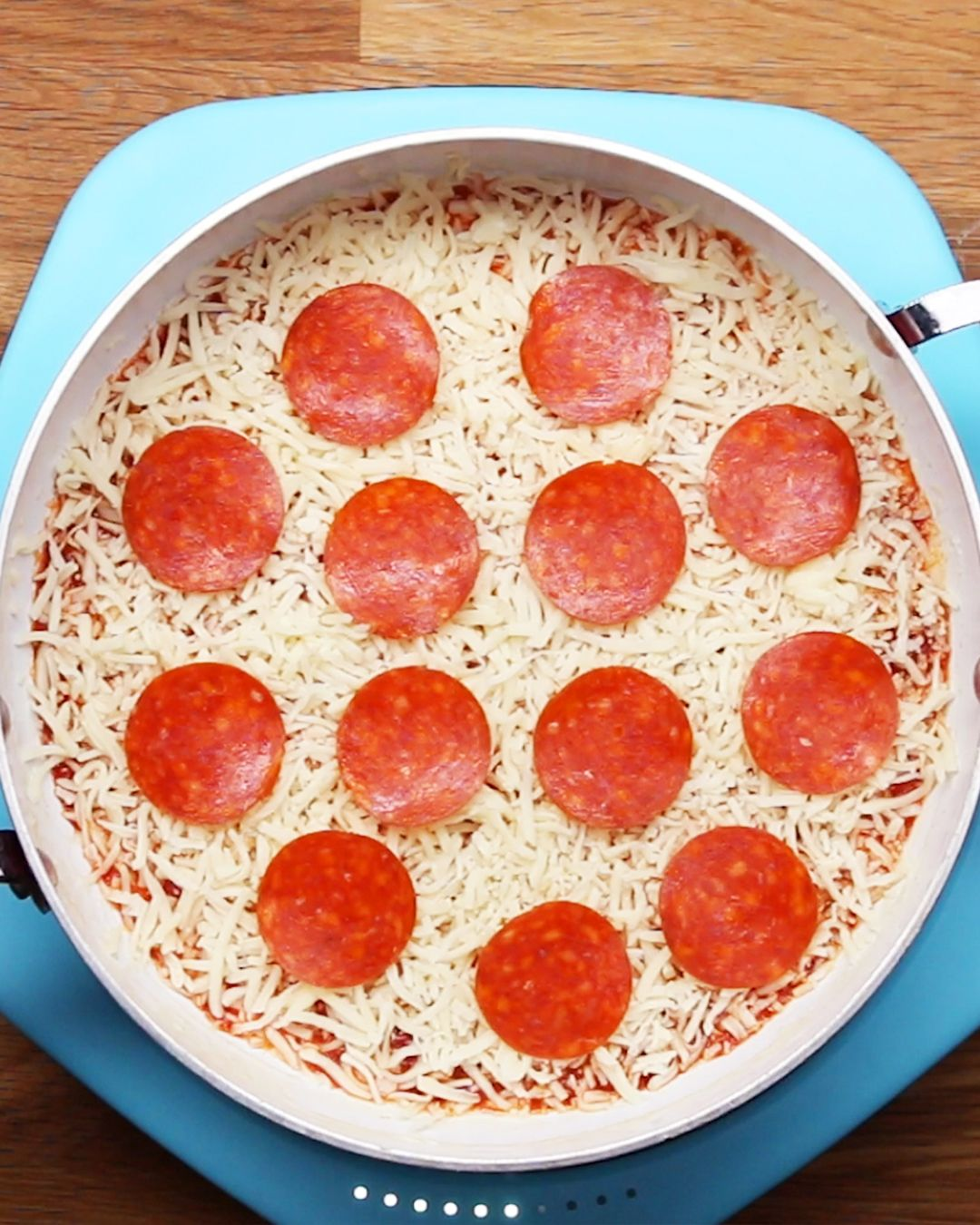 Photo of 20-Minute One-Pan Pizza Recipe by Tasty