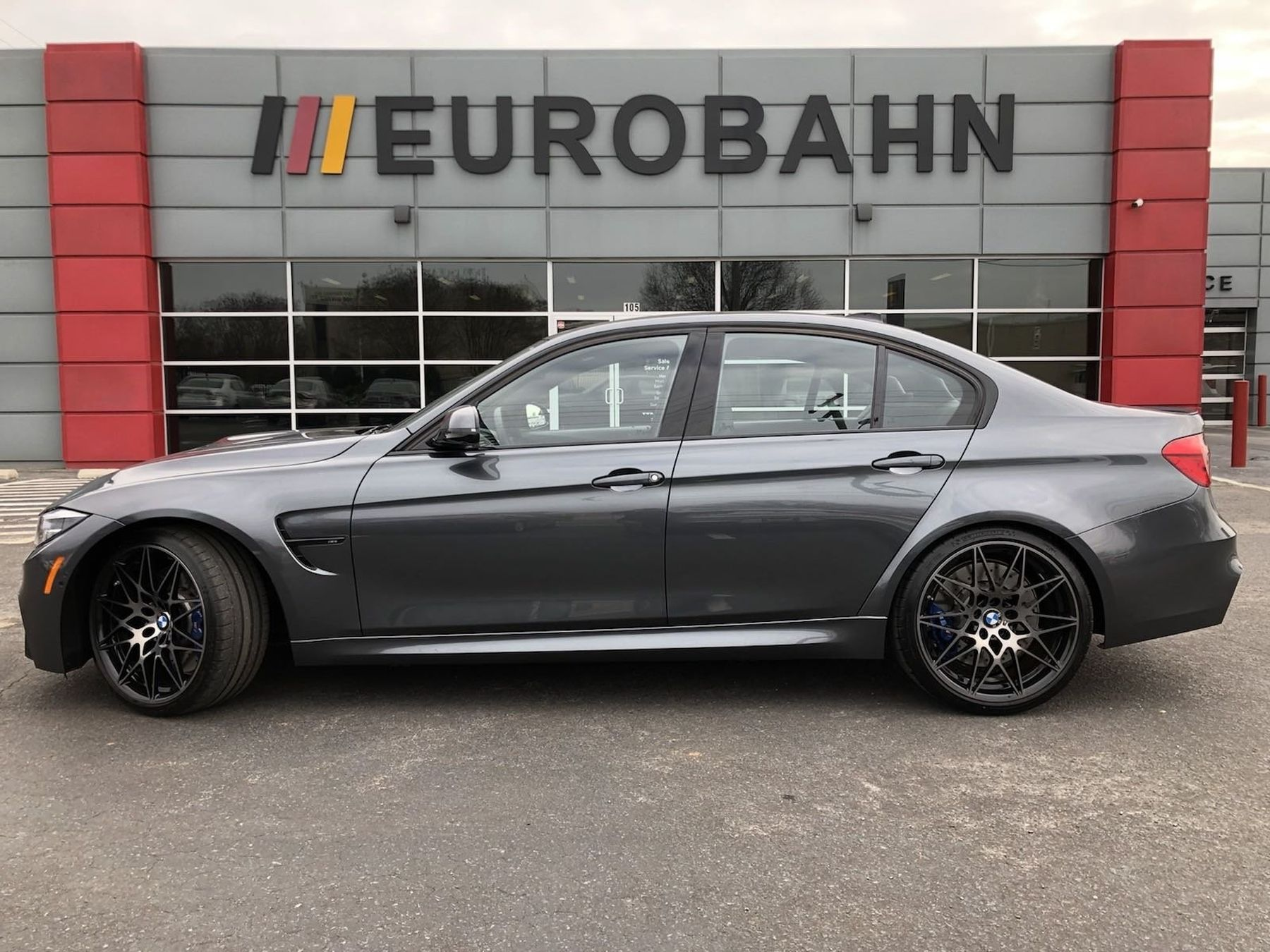Used One Owner 2018 Bmw M3 Competition Package In Greensboro Nc Eurobahn Bmw Mini Mercedes Benz Audi Of Greensboro Bmw Bmw M3 Mercedes Benz