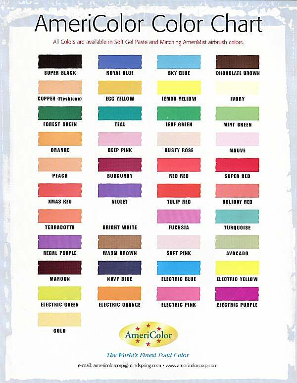 Great Info On Making Icing Colors Go To This Link Httpwww