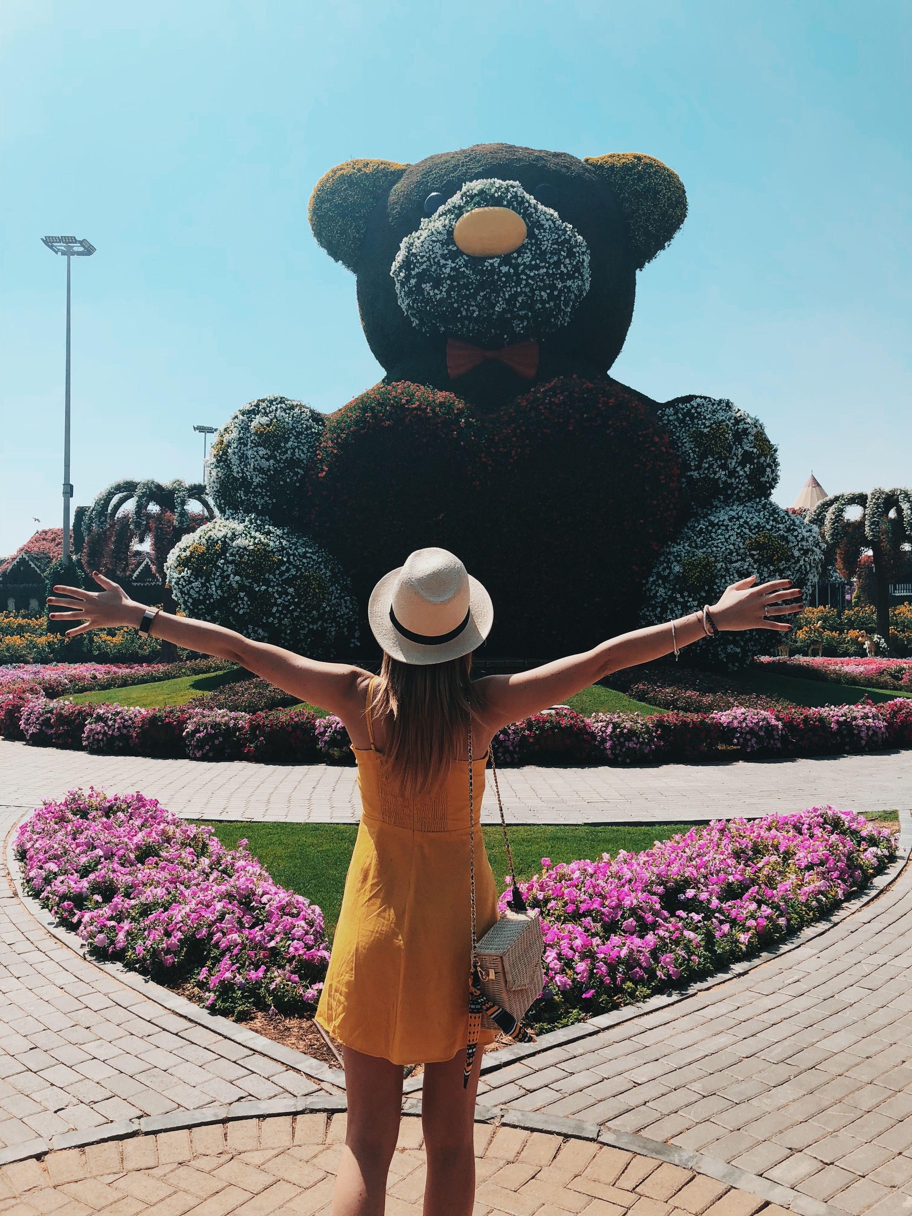 Miracle Garden Dubai Miracle garden, Teddy bear, Teddy