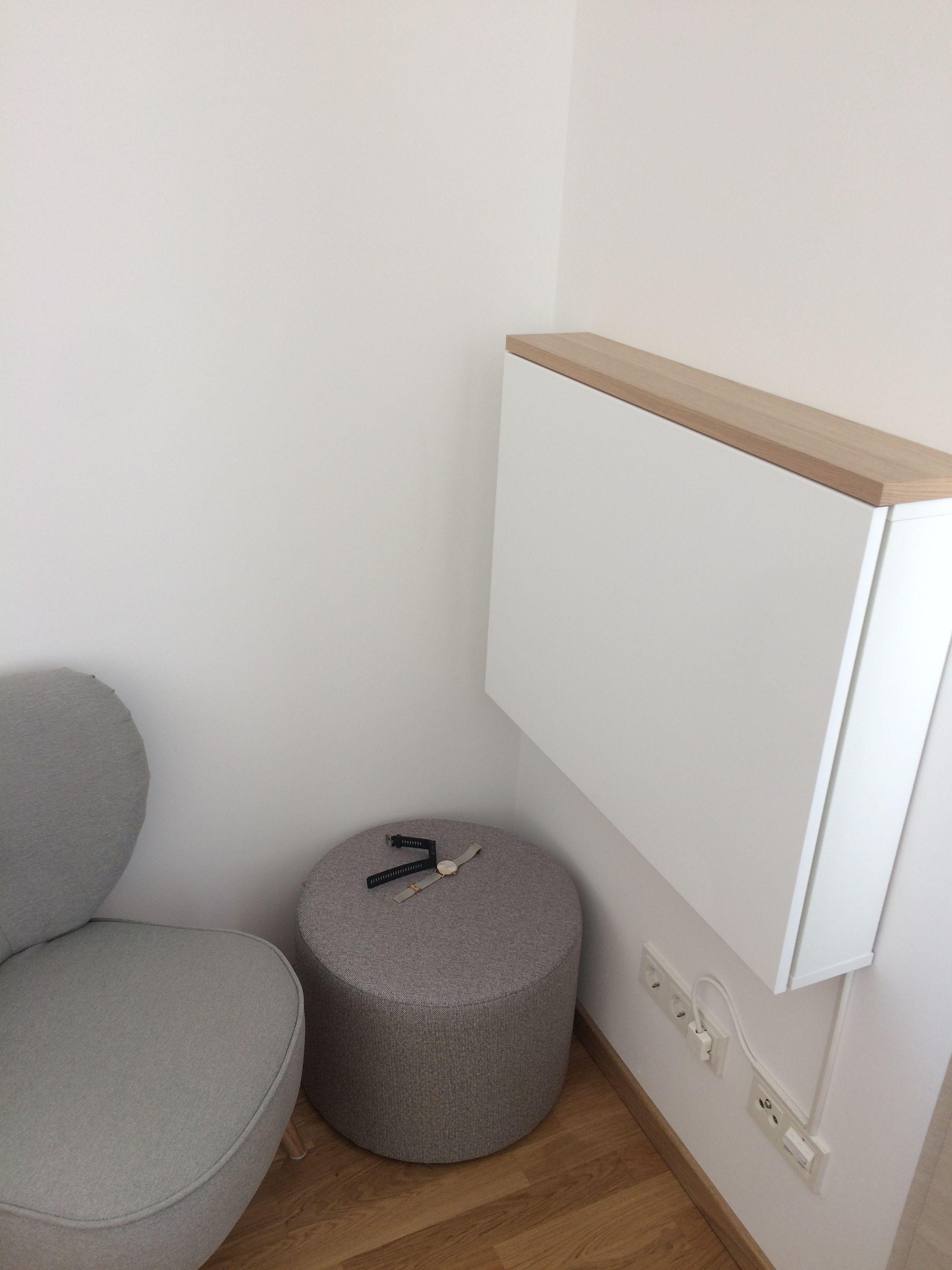 Wandsekretar Flatbox Aus Ikea Method Platzsparende Mobel Schreibtische Fur Kleine Raume Versteckter Schreibtisch