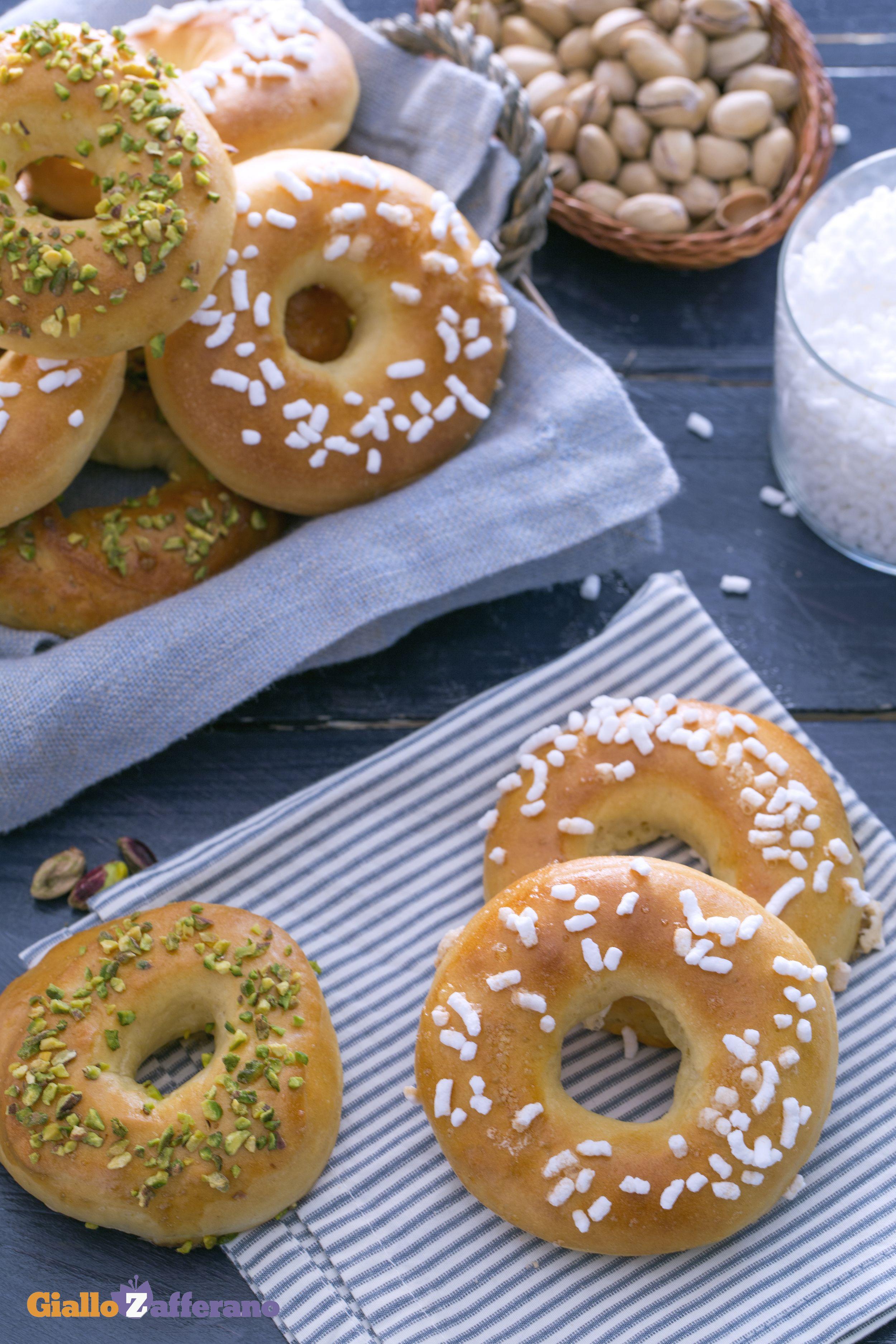 Ricetta Donuts Giallozafferano.Ciambelle Soffici Al Forno Ricetta Idee Alimentari Ricette Ciambelle
