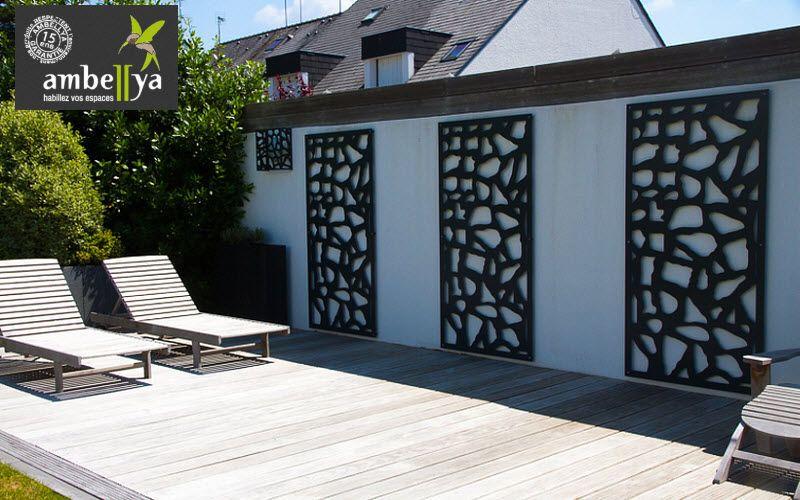 Image associ e divers pinterest treillis palissade - Treillis pour terrasse ...