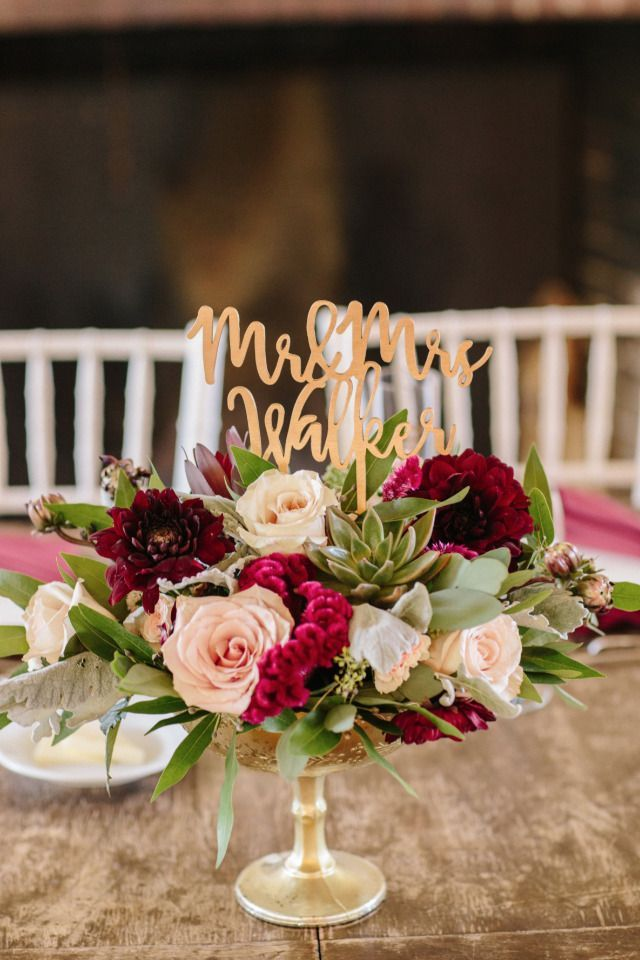 Weddings Flower Arrangements Pink And Red Wedding Centerpiece With