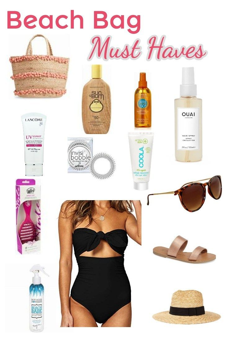 Beach Bag Essentials: Must Haves for your Beach Vacation