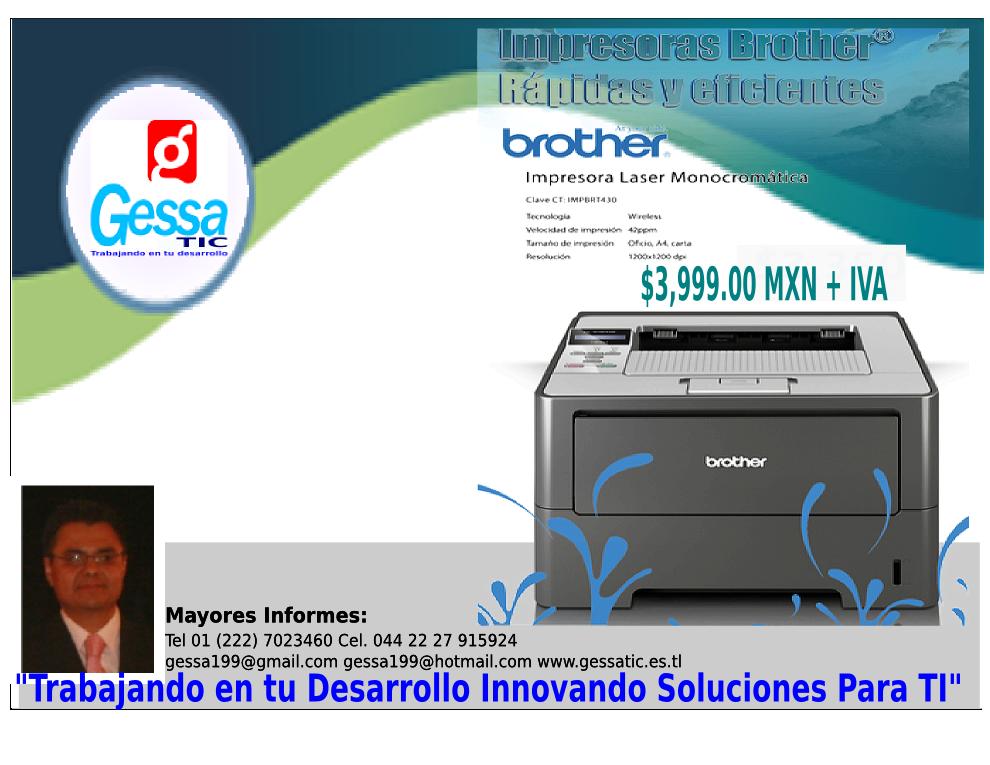Impresoras Laser Brother