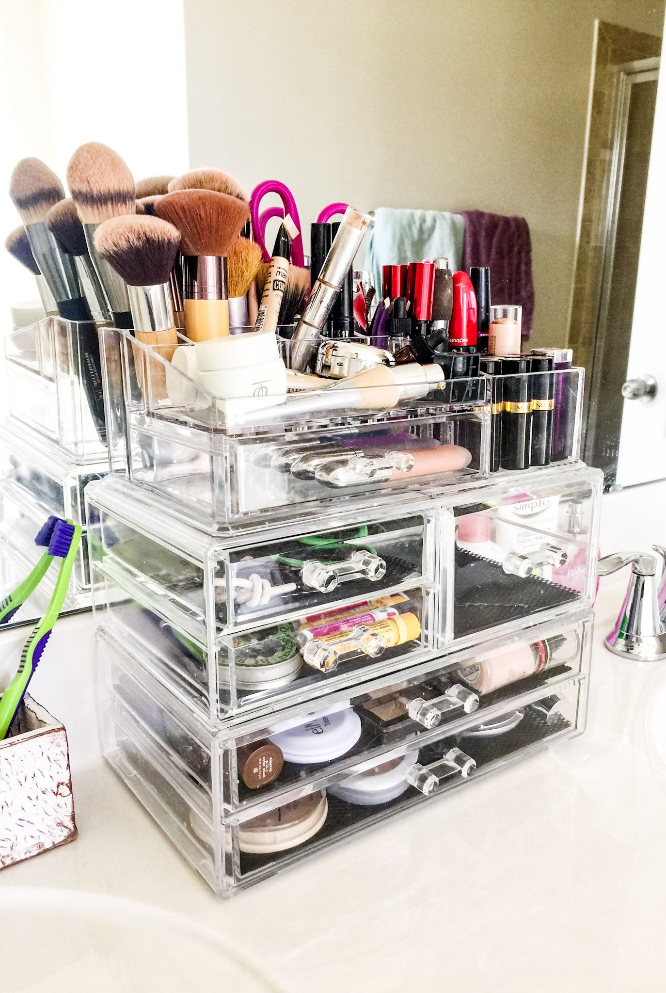 the best makeup organizer ever my blog pinterest makeup and