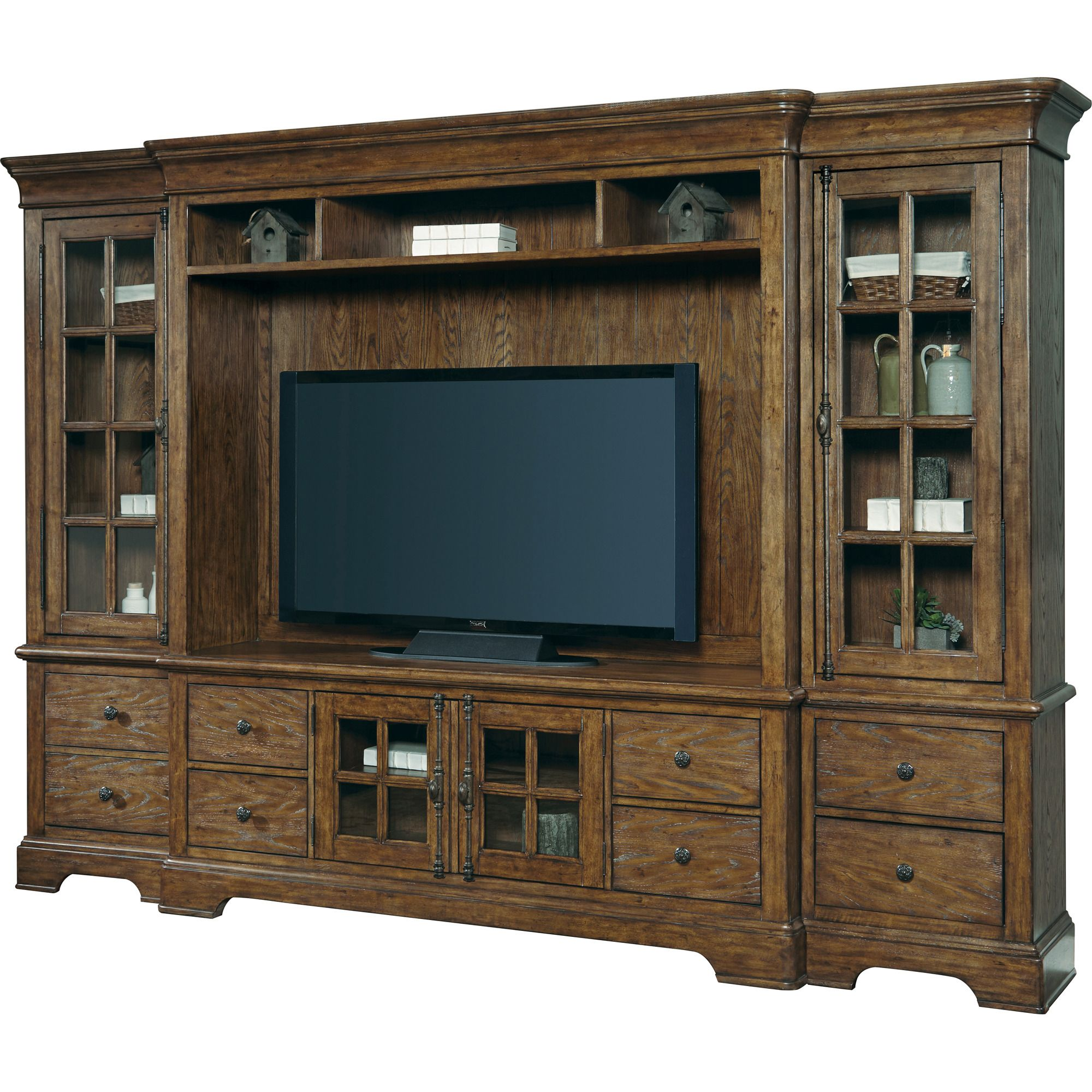 American Attitude Entertainment Center In Oak