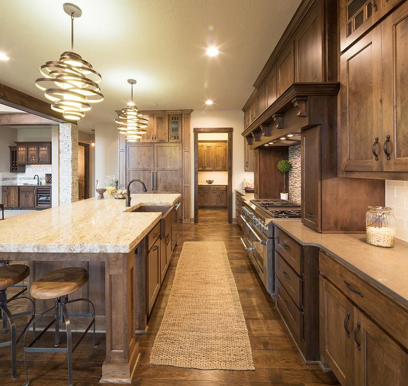 Rustic Kitchen Design in Kansas | Kitchen Designs | Pinterest