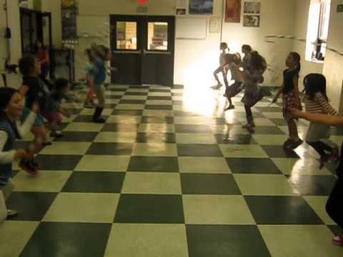 Lucie B's SAR Girls Jump then throw Down! hahahah!