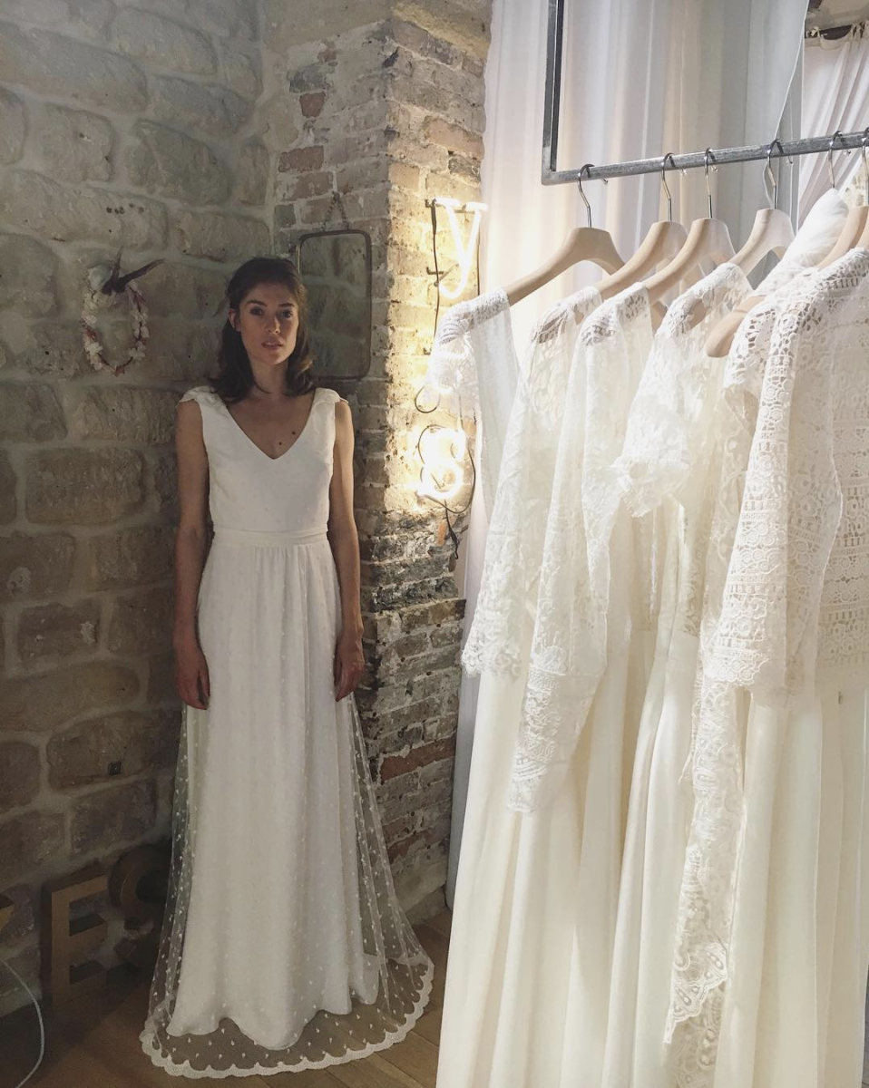 Robe de mariée Lorafolk Paris - Collection
