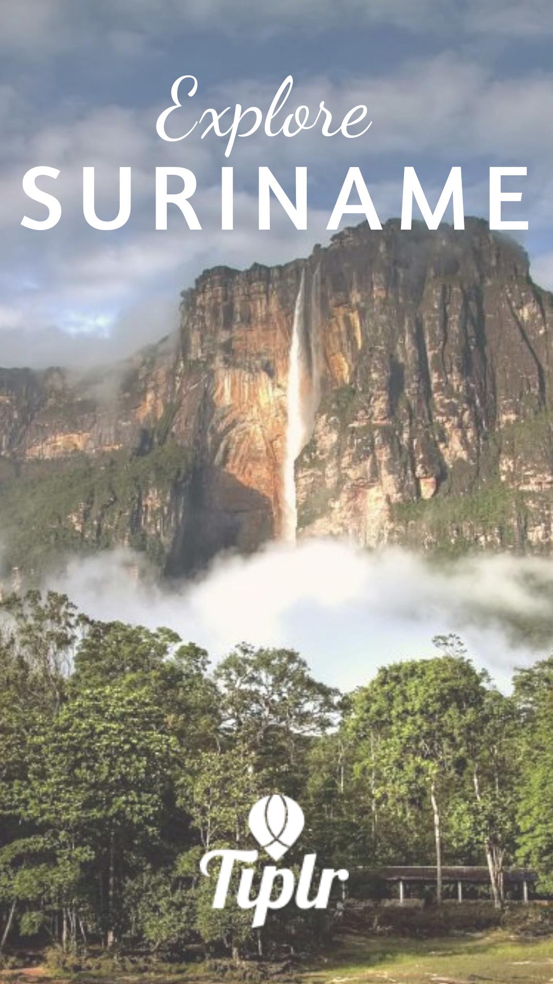 Located on South America's northeastern coast, Suriname