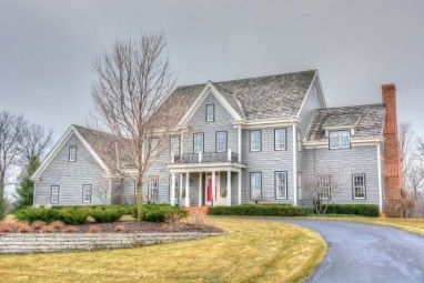 This Delafield Home Features An Open Concept Living/kitchen/dining Room,  Brick Patio · Movie Theater ...