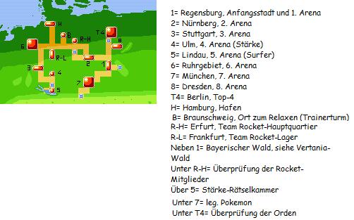 """""""Pokèmon-Weltkarte: Deutschland"""""""