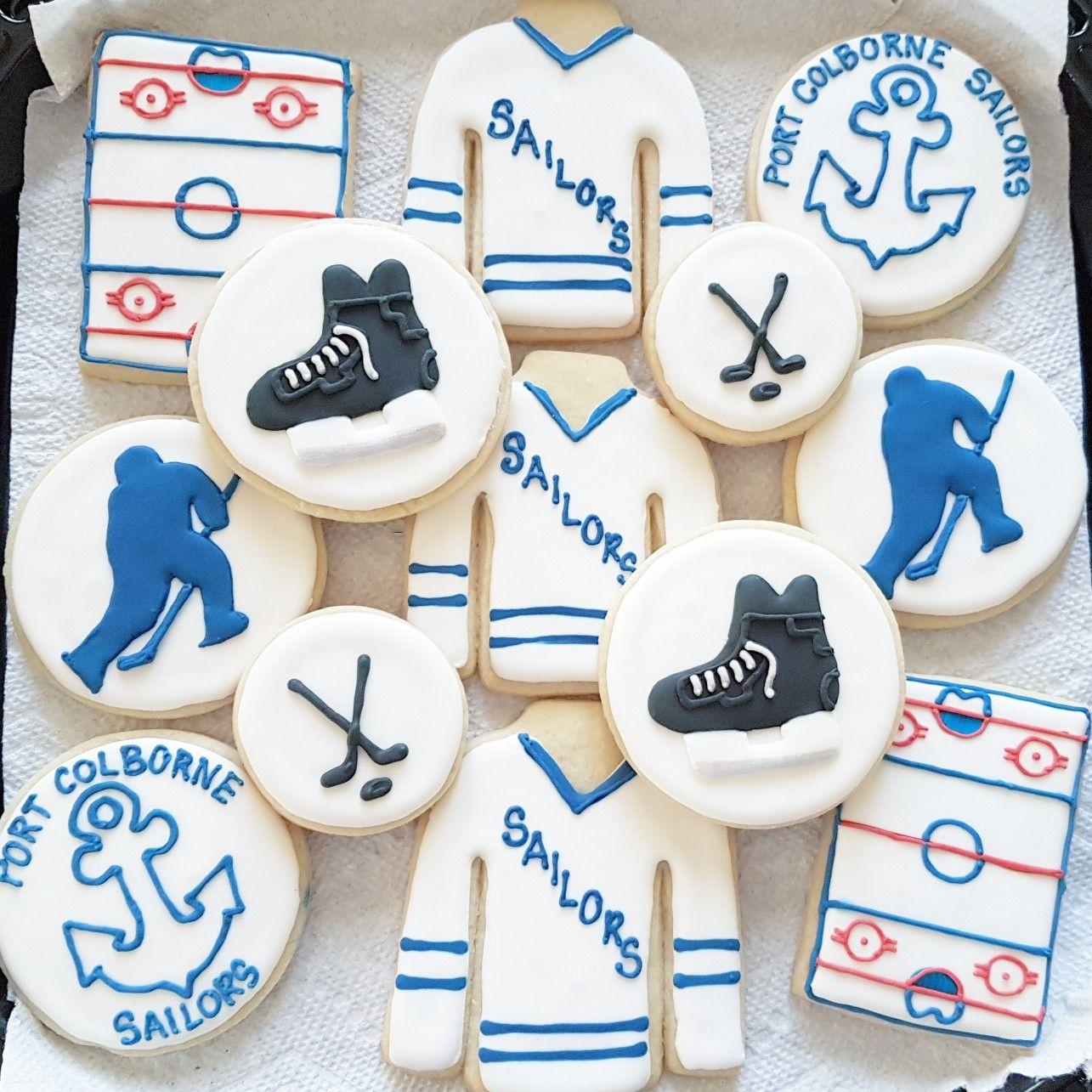 Hockey Sugar Cookies Tort