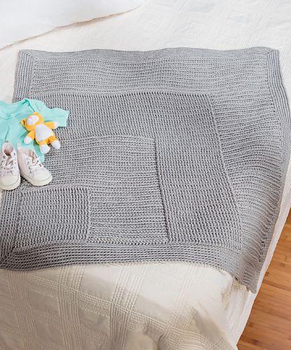 CROCHET - Ravelry: Asymmetrical Basket-Weave Blanket pattern by ...