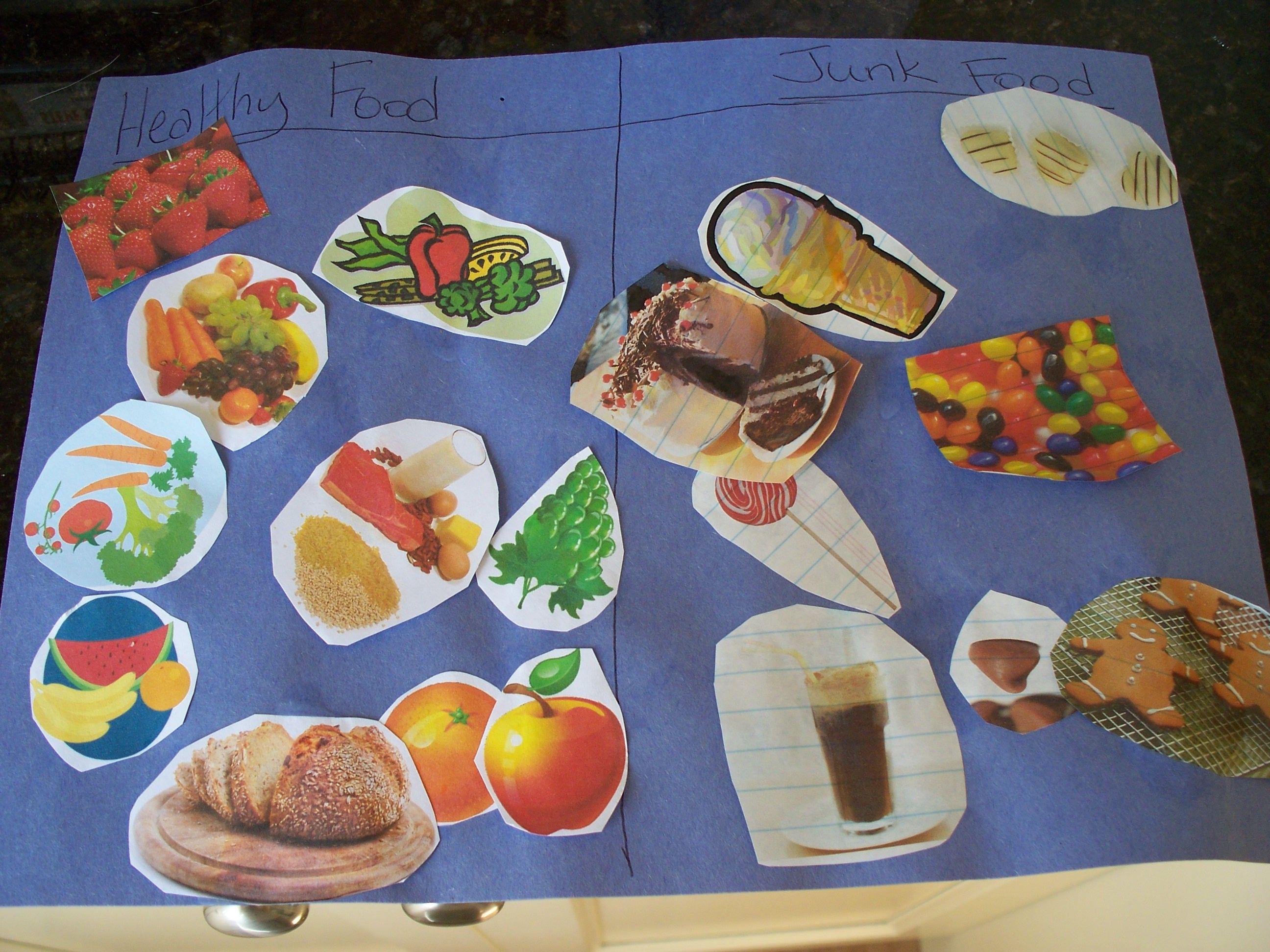 Sorting Healthy Food From Junk Food