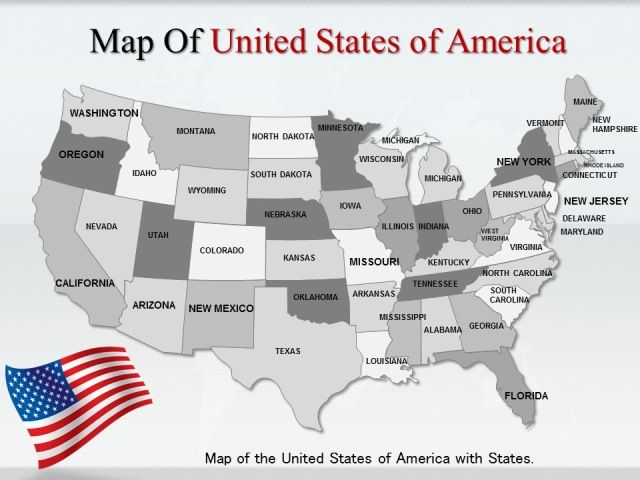 Learn the Importance of Online maps by interactive US maps - interactive us maps for powerpoint