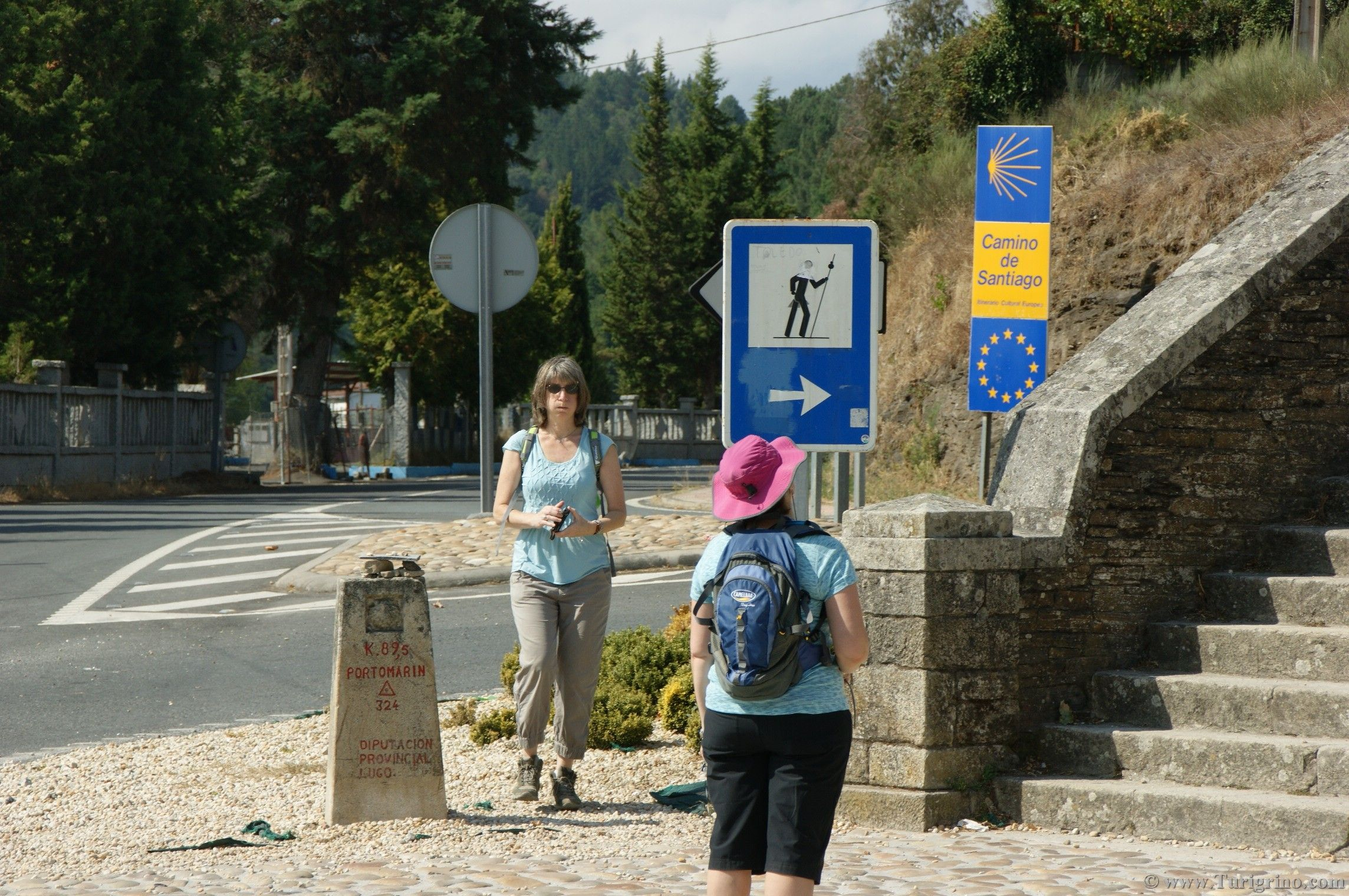 Buen Camino, #CaminoDeSantiago the way en #Portomarin