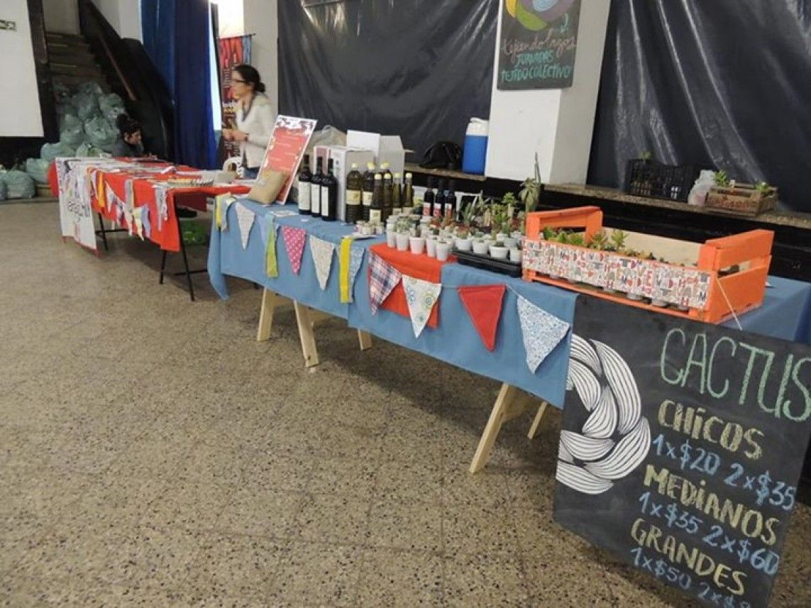 Colectivo Juana Azurduy - Mercado Cooperativo y Bolsón Junio 2015