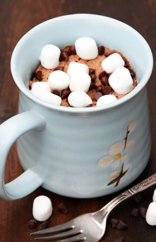 Hot Chocolate Coconut Flour Mug Cake | Paleo mug cake ...