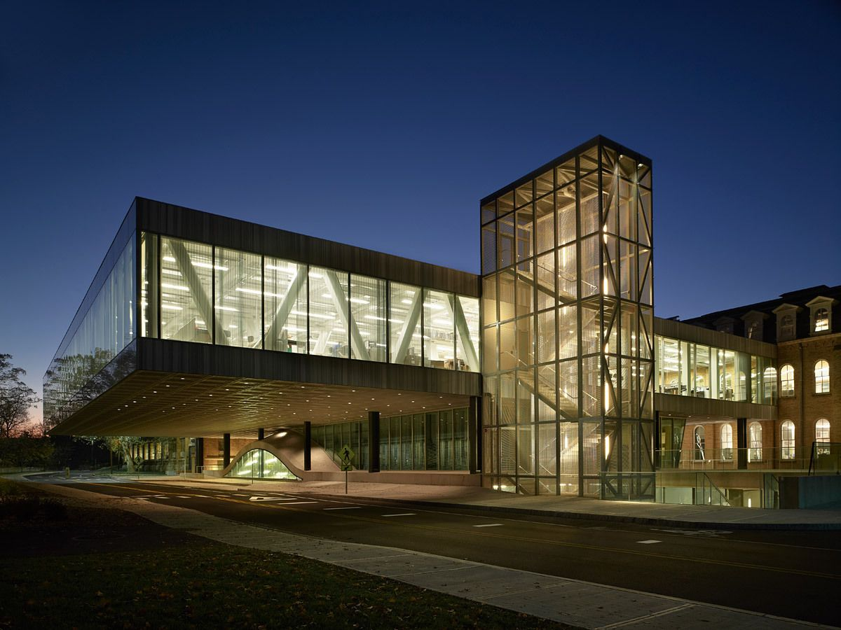 Charmant Milstein Hall At Cornell University (The Cornell School Of Architecture),  Architect: OMA
