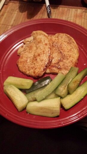 Turkey Breast and zucchini