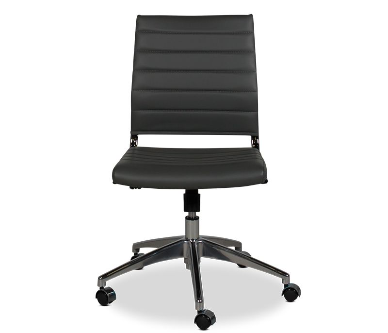 The Luke Low Back Rolling Chair Is The Perfect Mix Of Comfort And Function For Your Home Office Gray Tilt Swivel And Gas L Chair Rolling Chair Office Chair