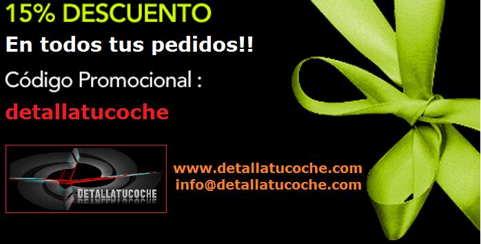 Ahorra dinero!!  Solo en www.detallatucoche.com