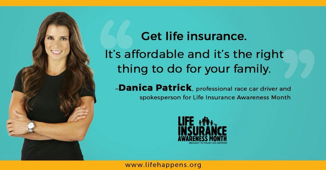 Danica Patrick is right. Think about your family and their