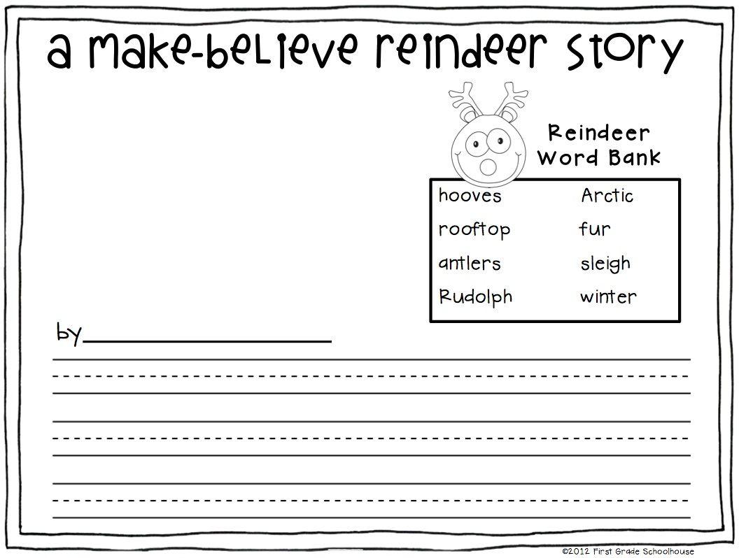 Christmas Writing for First Grade | Christmas writing, Activities ...