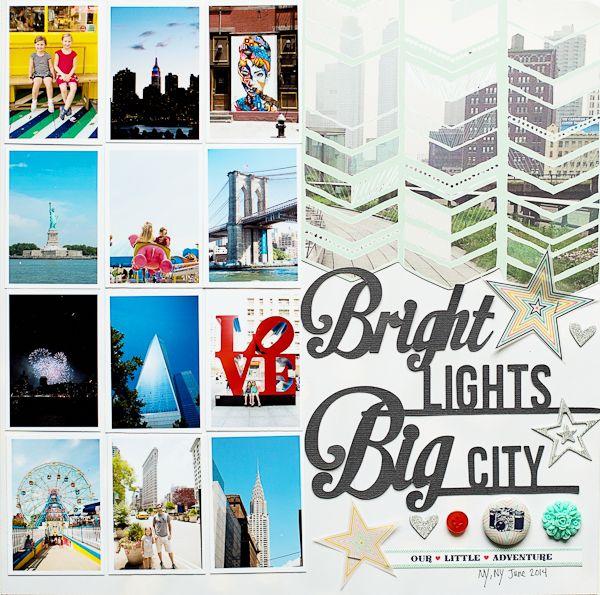 Bright Lights Big City by Katie Ehmann // via @gossamerbluekit