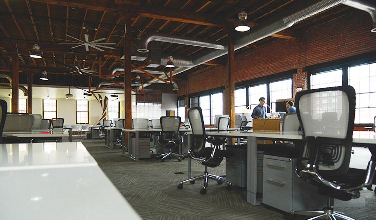 5 Ways to Increase Productivity at Work Office interior
