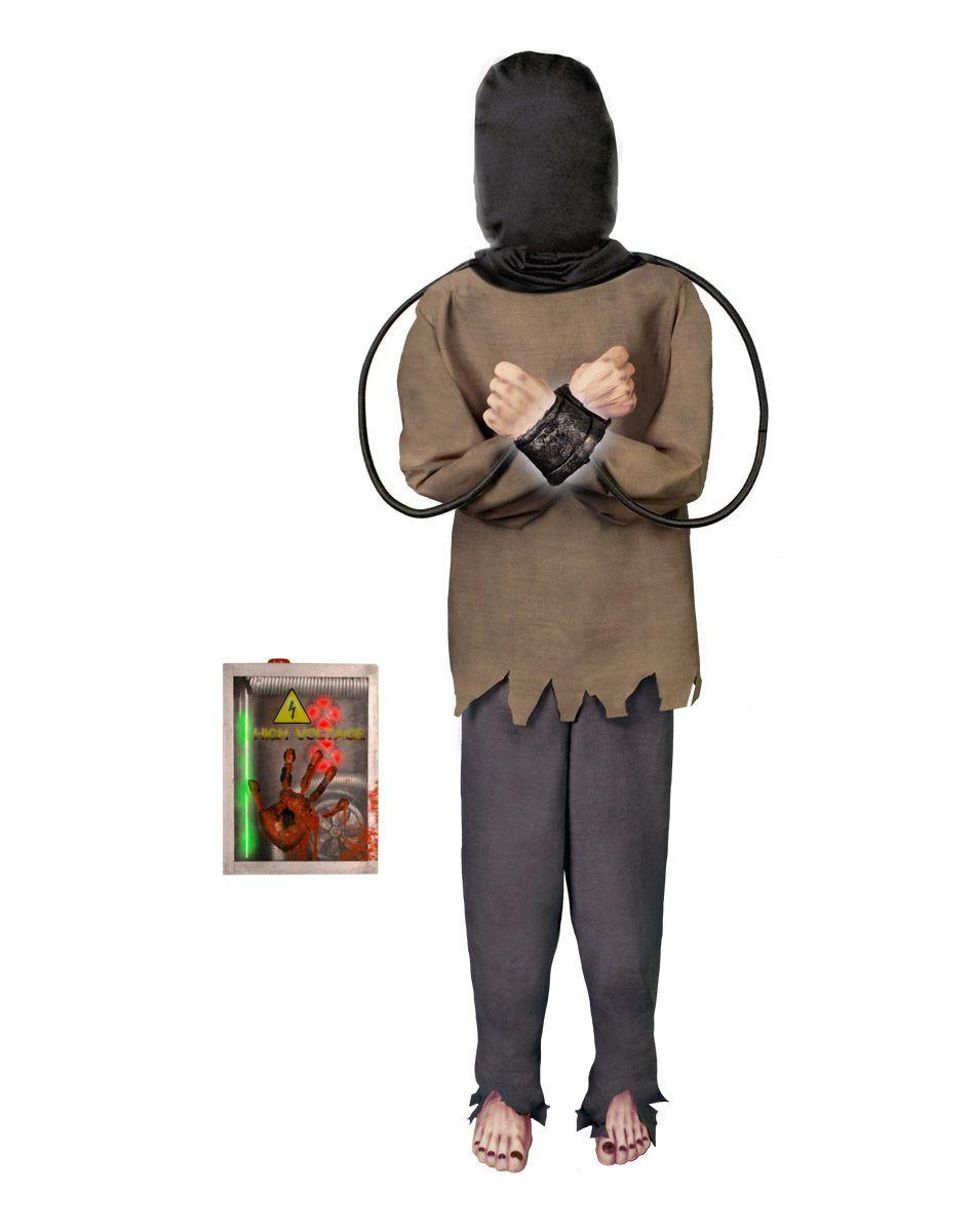 electrified maniac with electric box spirit halloween