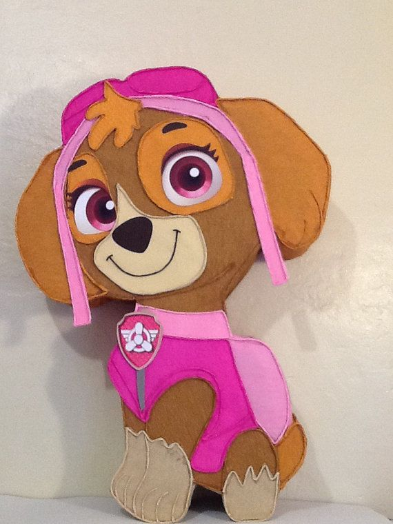 Paw Patrol Marshall Pinata Piñata Dog Patrulla de cachorros  pull string hit new