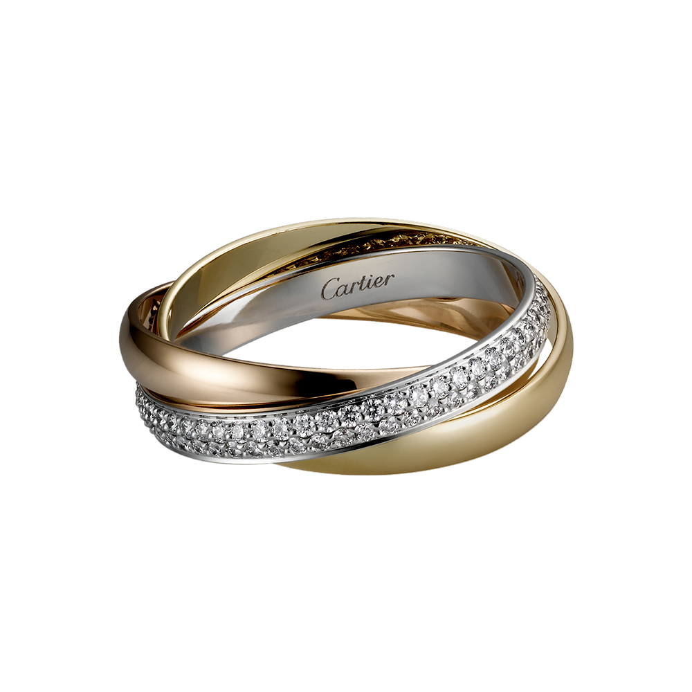 cartier 3 rings meaning