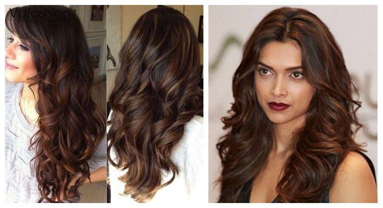 indian skin hair color brown highlights hair pinterest