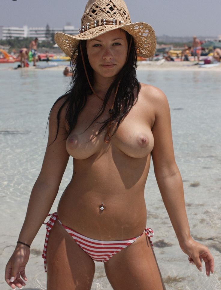 Cute women on south beach topless have