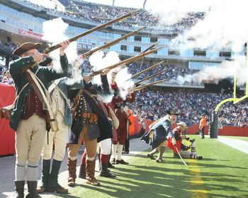 The Minutemen Picture At New England Patriots Photo Store New England Patriots New England Patriots Football Patriots