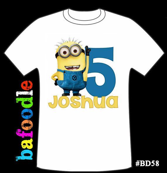 Top Despicable Me Minion Mania Tee Shirt Age 3-4
