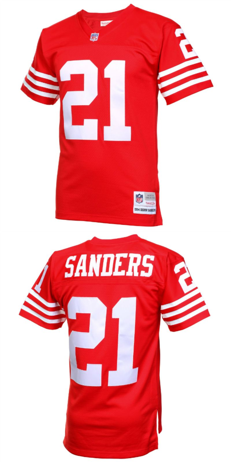 separation shoes 4b6d5 8717c UP TO 70% OFF. Deion Sanders San Francisco 49ers Mitchell ...