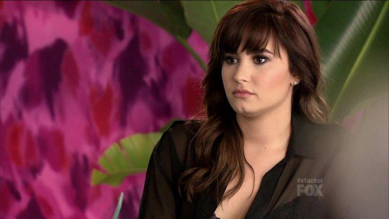 Demi Lovato X Factor Screencaps Demi Lovato Pictures Demi