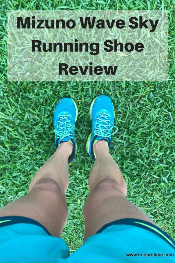 Need new running shoes?  I am reviewing the Mizuno Wave Sk yRunning Shoe.