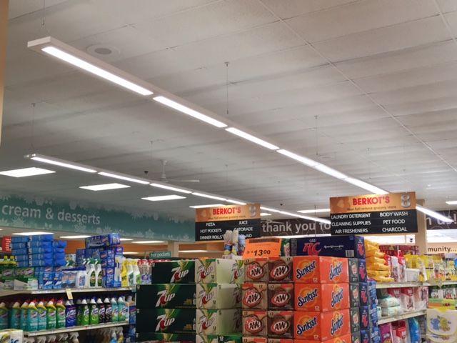 Berkots Super Foods Cooper Lighting By
