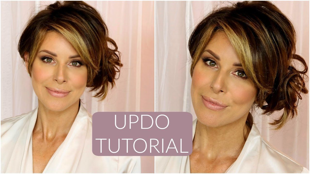 Updo With Clip In Extensions Tutorial Youtube Want A Long Hair
