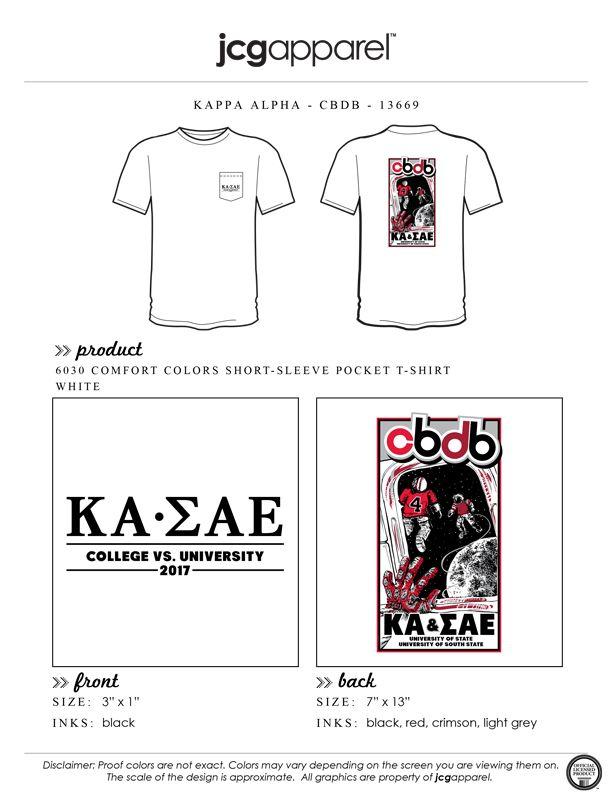 82a49fe0 JCG Apparel : Custom Printed Apparel : Kappa Alpha CBDB T-Shirt #kappaalpha  #ka #theorder #cbdb #football #space #astronaut #handdrawn