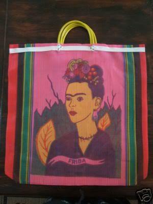 Frida Kahlo Mesh Bag by mafufa