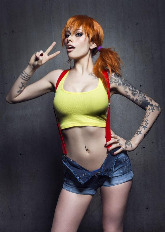 Cosplay misty getting fucked